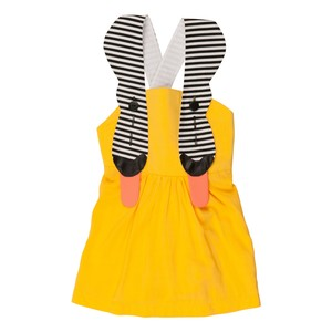 Bang Bang Copenhagen Yellow Palma Dress