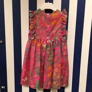 New Flora Daisy print cotton dress