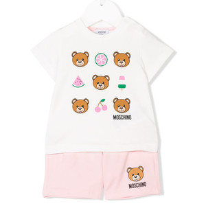 teddy short set